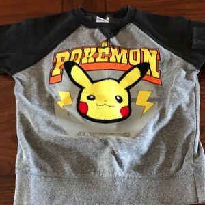 Long sleeve Pikachu Sweatshirt Size Sm